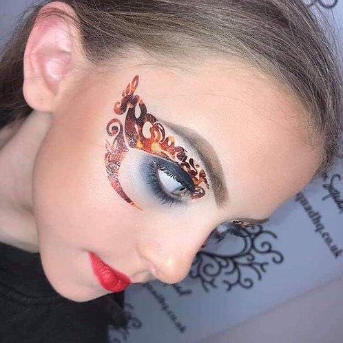 Flames Eye Art