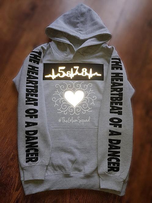 Heartbeat of a dancer hoodie