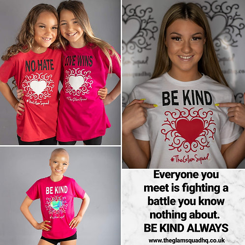No Hate Be Kind Love Wins T-shirt