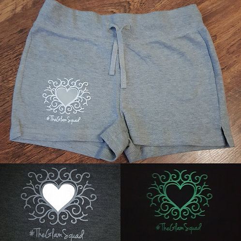 Glow Loungewear Grey Shorts