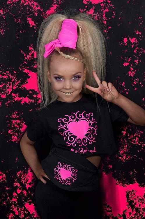 Black/Pink Neon UV Glam Glow Set