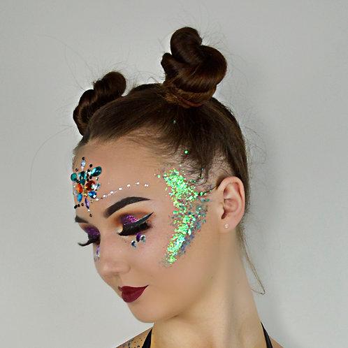 CHARLOTTE Mermaid Chunky Mix Disco Glitter 15g