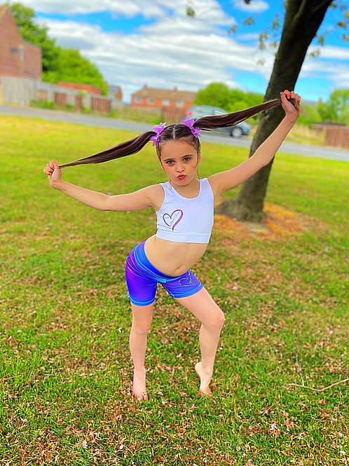 Kids Glam Gear Sports Shorts