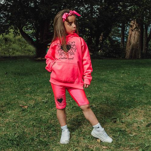 RA-DI-ANCE Hoodie Flo Pink