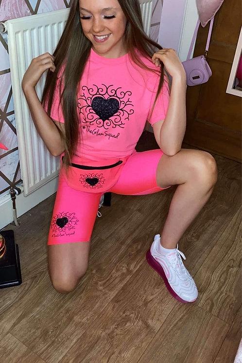 RA-DI-ANCE flo pink Bumbag