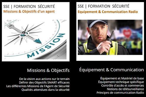 Missions Objectifs Equipement Communicat