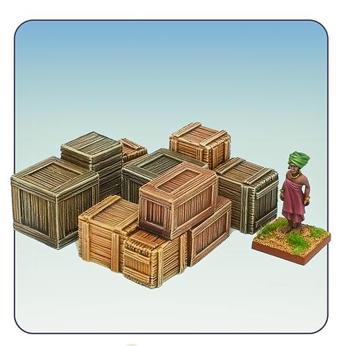Wooden Crates 4D