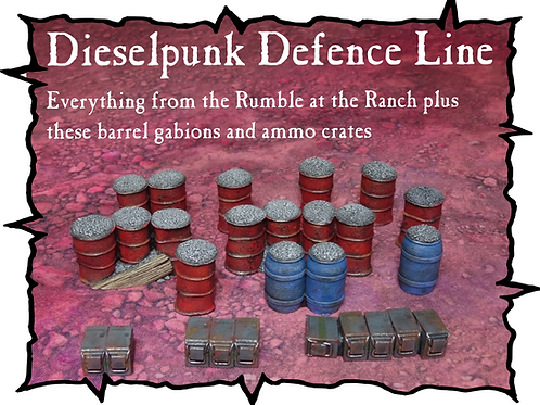 Battle at the Farm - Dieselpunk Defence Line