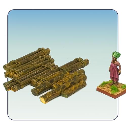 Wooden Ladders 5C