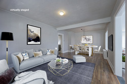 Living room with dining_vs