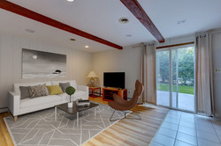 Family Room, Virtually Staged