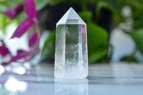 Crystal Quartz Obelisk of Clarity