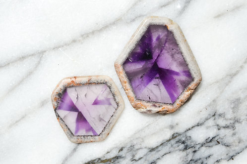Amethyst Trapiche of Perspective