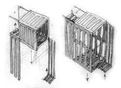Counterweights diagram