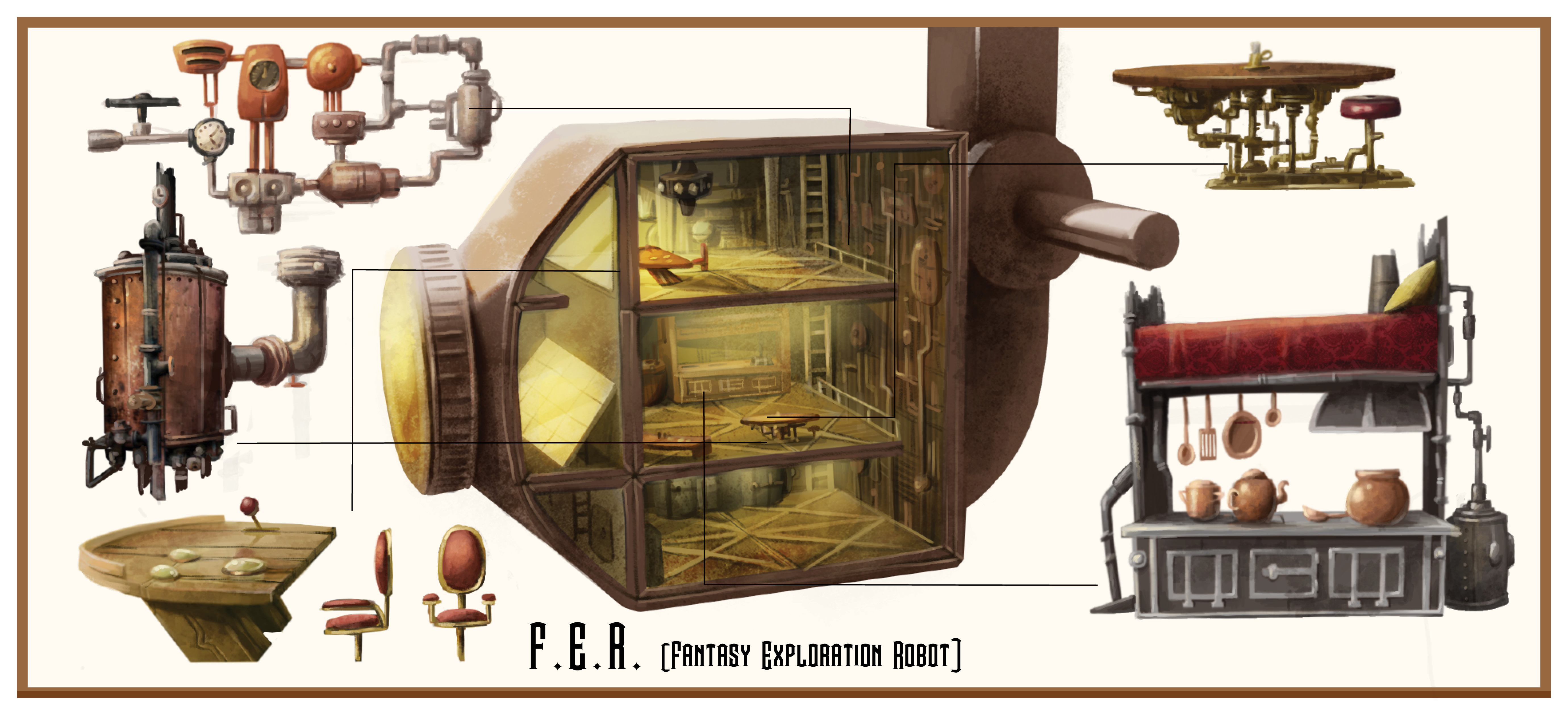 F.E.R. (Fantasy Exploration Robot)