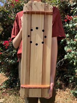 Medieval string drum