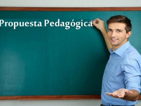 Ejemplo de una Propuesta Pedagógica para el Segundo Ciclo de Infantil de un Centro Educativo.