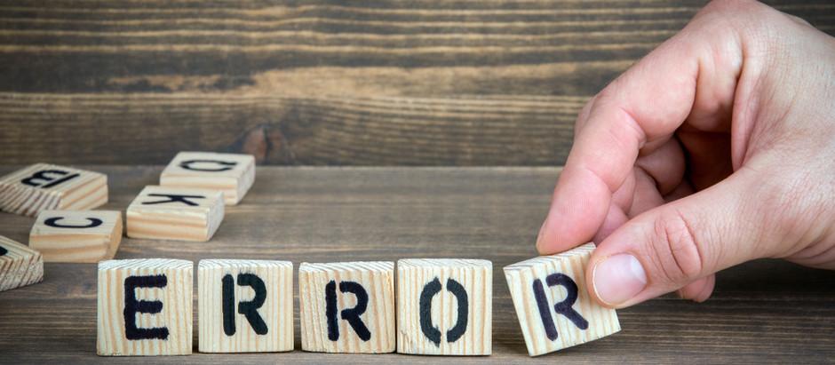 Errores más comunes a la hora de exponer la Programación Didáctica