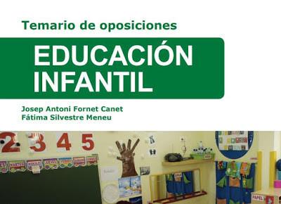 Educalida. Temas de muestra 13,18 y 19 Oposiciones Infantil
