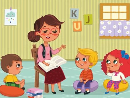 Ejemplo de un Supuesto Práctico de Infantil resuelto. Planificar la jornada para trabajar un cuento.