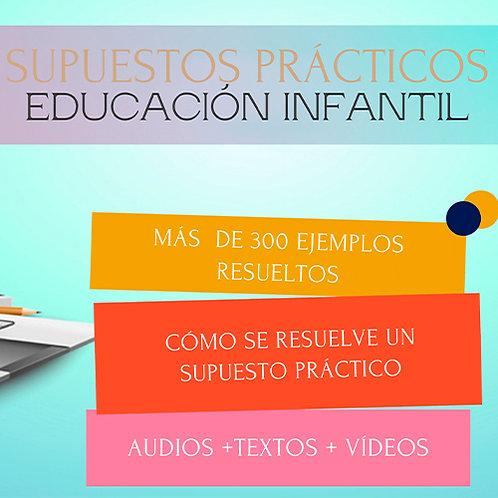 SUPUESTOS PRÁCTICOS EDUCACIÓN INFANTIL