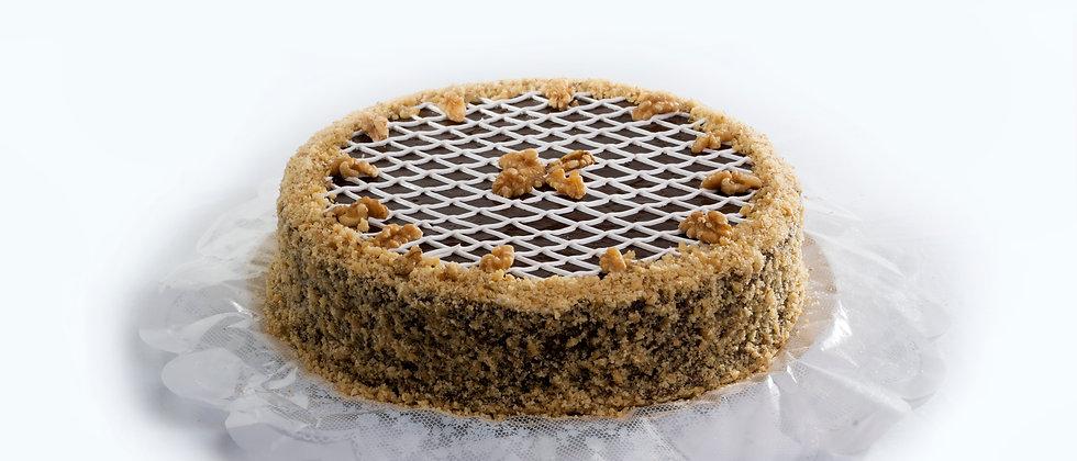 Torta Nozes com Chocolate