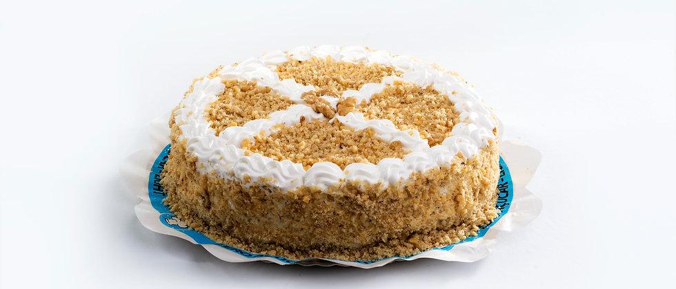 Torta Nozes - Zero Açúcar