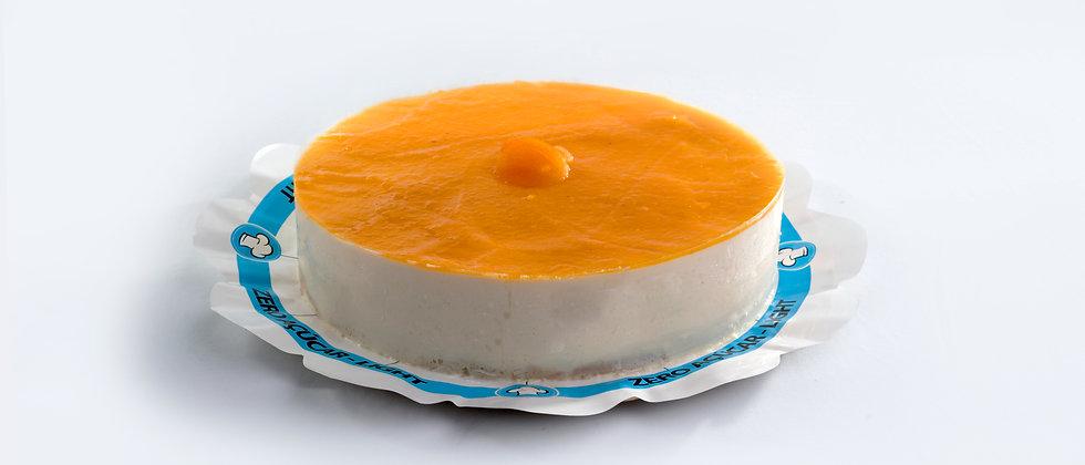 Torta Cheesecake de Damasco - Zero Açúcar