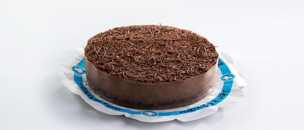 Torta Mousse de Chocolate - Zero Açúcar