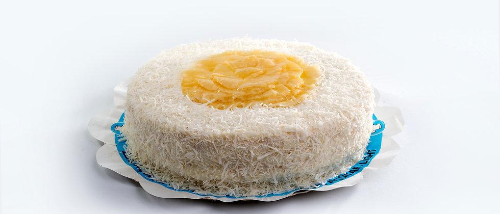 Torta Coco com Abacaxi - Zero Açúcar