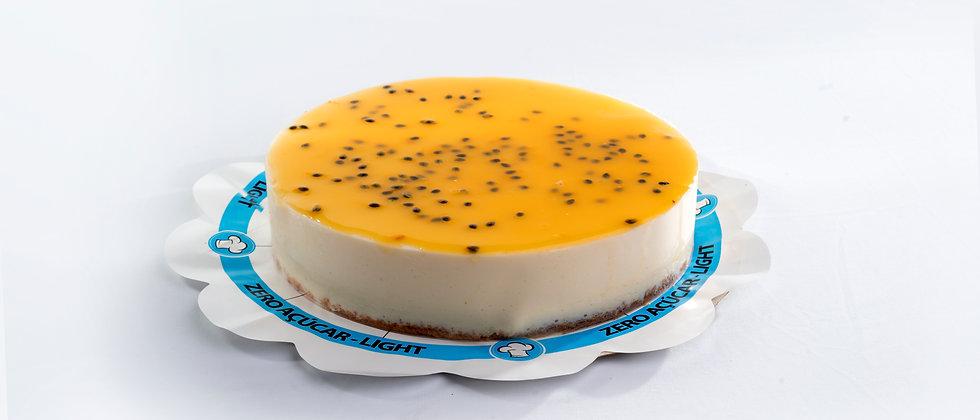 Torta Mousse de Maracujá - Zero Açúcar