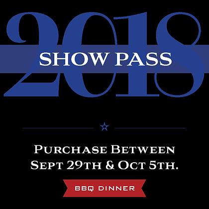 Show Pass - BBQ