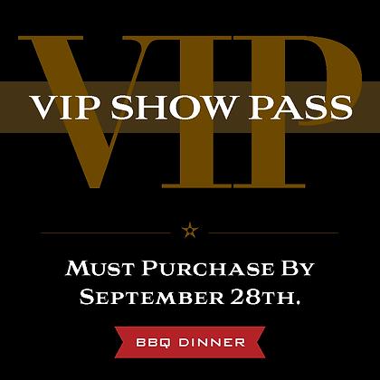 VIP Pass - BBQ