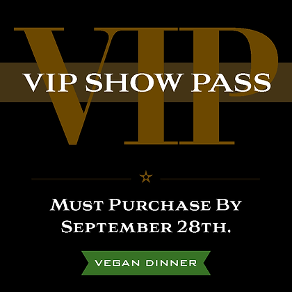 VIP Pass - Vegan
