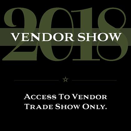 Vendor Show Only