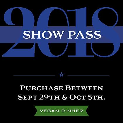Show Pass - Vegan
