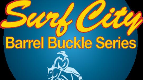 Surf City Barrel Race Buckle Series