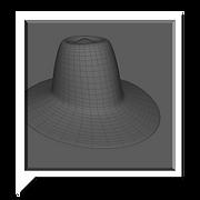inspector hat 3d model by levent avan