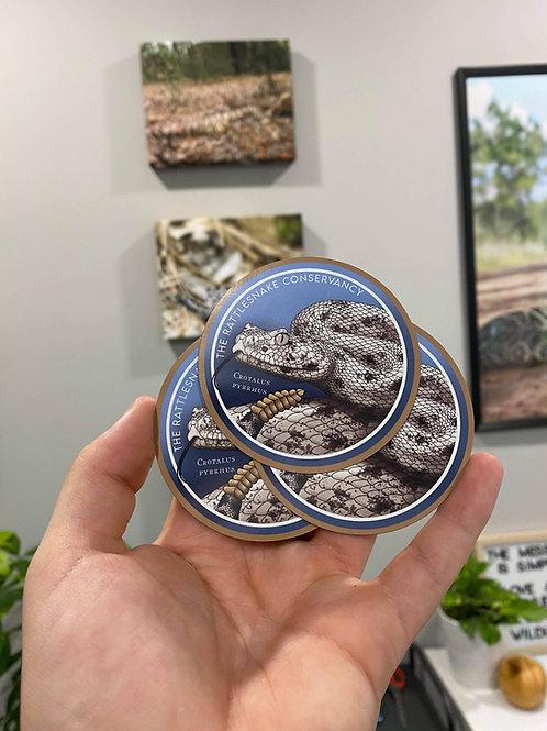 Speckled Rattlesnake Magnet