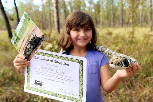 Junior Conservationist - Adopt a Rattlesnake