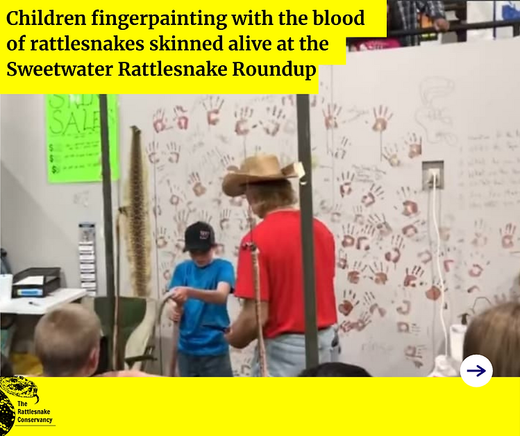 Children fingerpainting with the blood o