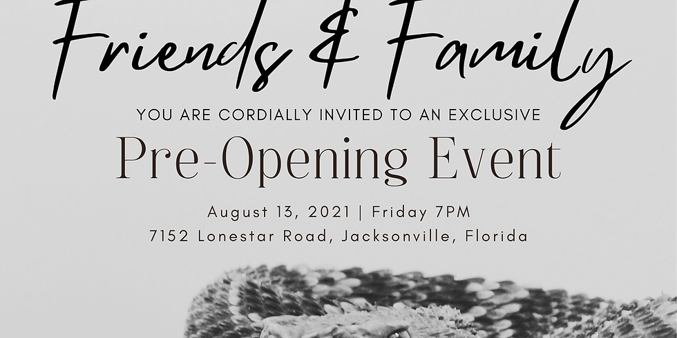 Pre-opening event (Invite only)