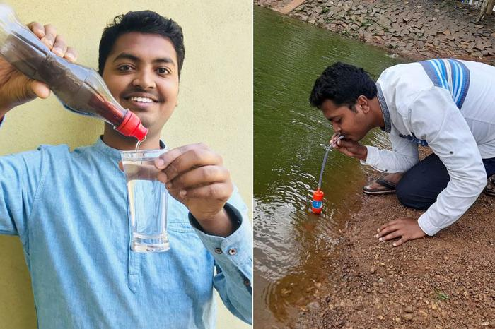 This man invented the cheapest water filter at Rs30!