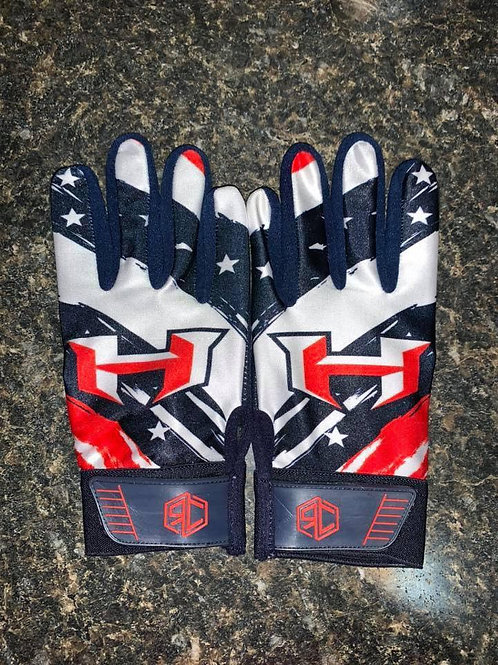 Hitmen  Batting Gloves Option 1