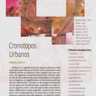 """""""Reflexão: Cronotopos Urbanos, cidades imaginárias"""" Jornal do Comércio, 07/12/2012"""