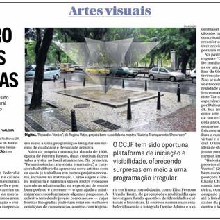 """""""O Centro em duas coletivas"""", Daniela Labra Crítica - Jornal O Globo, Segundo Caderno Artes Visuais, 21/03/2016"""