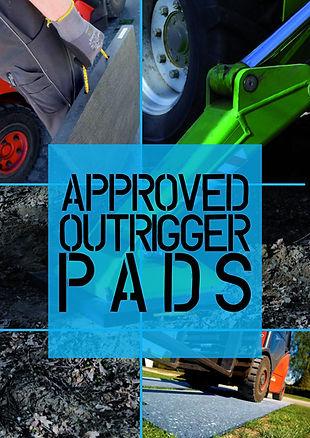 outrigger pads,crane pads,
