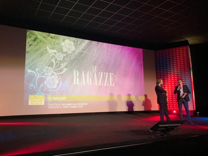 Le Ragazze al MIA - Mercato Internazionale Audiovisivo!