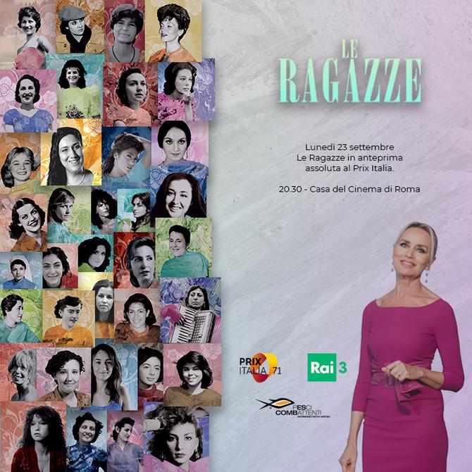 Il 23 settembre la nuova stagione de Le Ragazze in anteprima assoluta al Prix Italia!