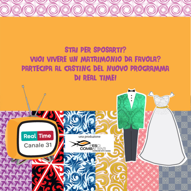 Siamo a Roma Sposa per i casting di un nuovo programma televisivo di Real Time!